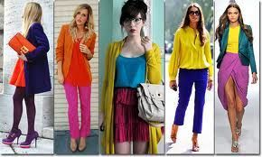 bloco de cores no look - http://www.cashola.com.br/blog/moda/color-block-e-looks-monocromaticos-335