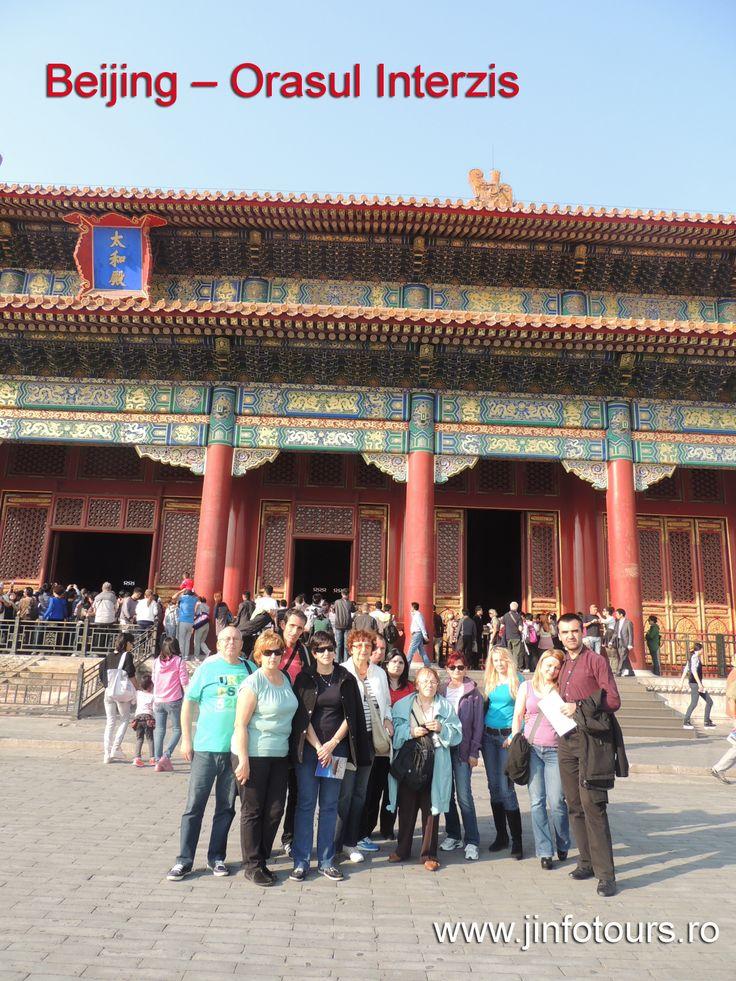 China, Beijing - Orasul Interzis