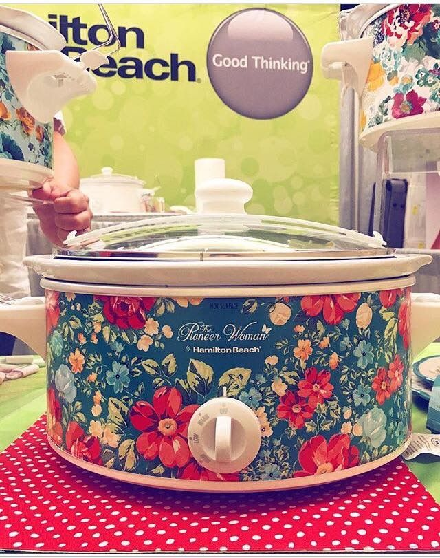 Pioneer Woman Slow Cooker this fall @ Walmart!
