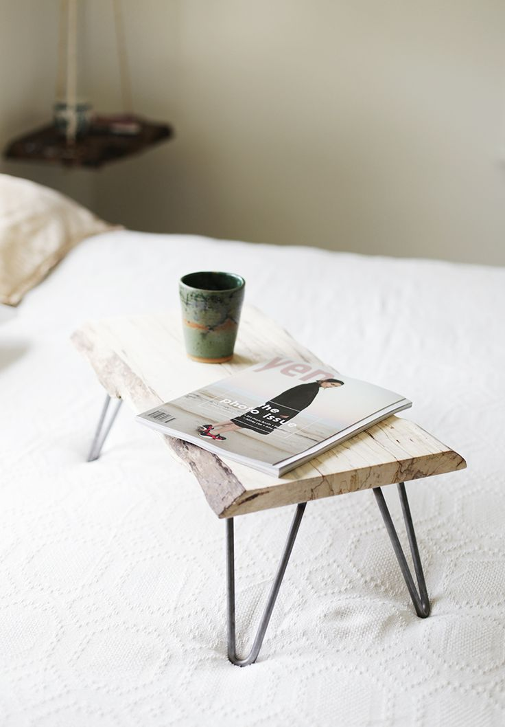 DIY Wood & Hairpin Leg Lap Desk |  @themerrythought