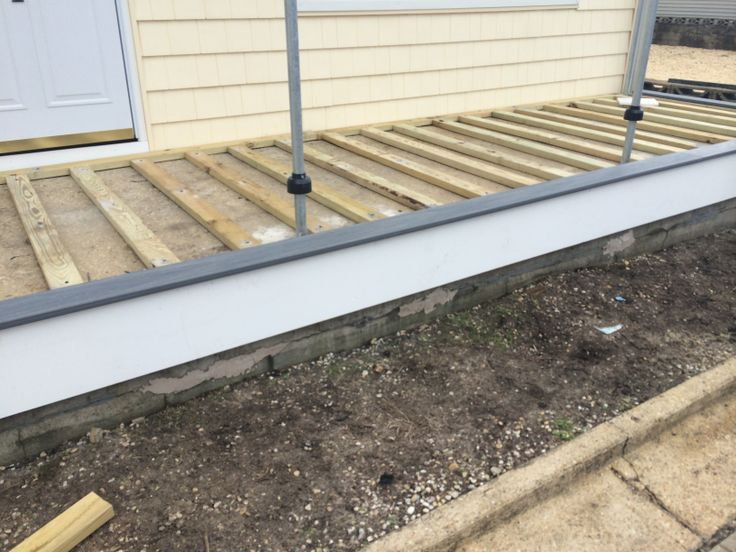 Another Deck Install By Snk Fence Featuring Driftwood Grey