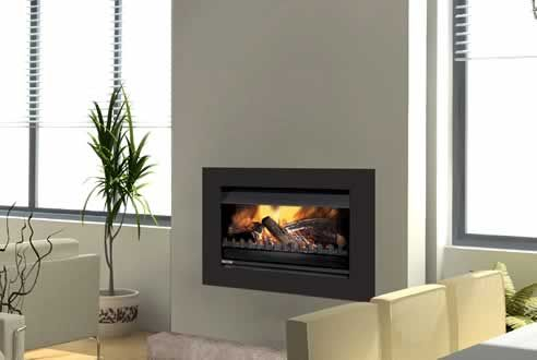 050 Low Low Universal wood fire by Jetmaster Fireplaces
