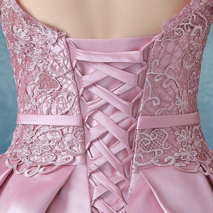 SUMINISTROS Dresswe.comCorreas elegante Bowknot vestido rodilla vestido de Cóctel de encaje vestidos de cóctel 2016 (5)