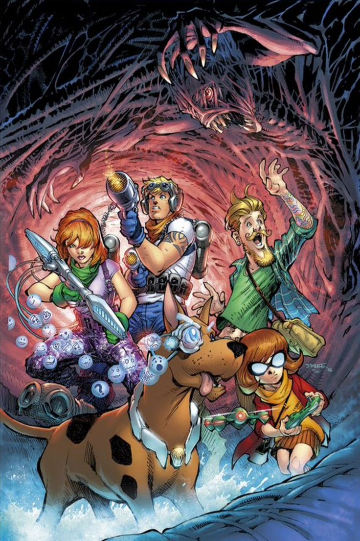 Like the rest of the internet, I have a curiosity about the upcoming Scooby Apocalypse comic book that cannot be satiated by simply looking at preview artwork or giggling at precarious convention p…