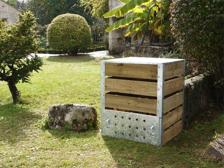 Compost : rien ne se perd, tout se transforme Fabriquer un composteur en palette