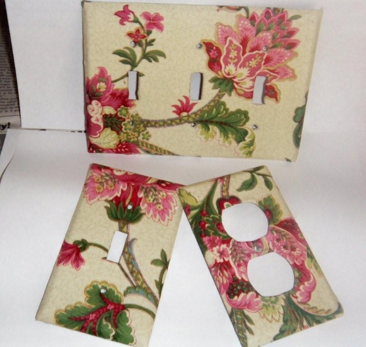 Decoupage wall outlets