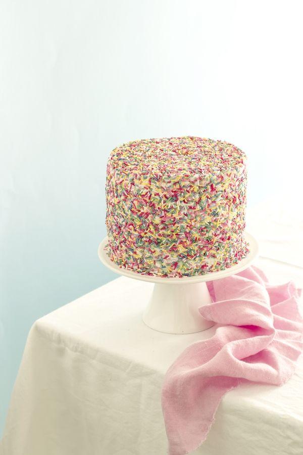 torta di carnevale -  sprinkle cake