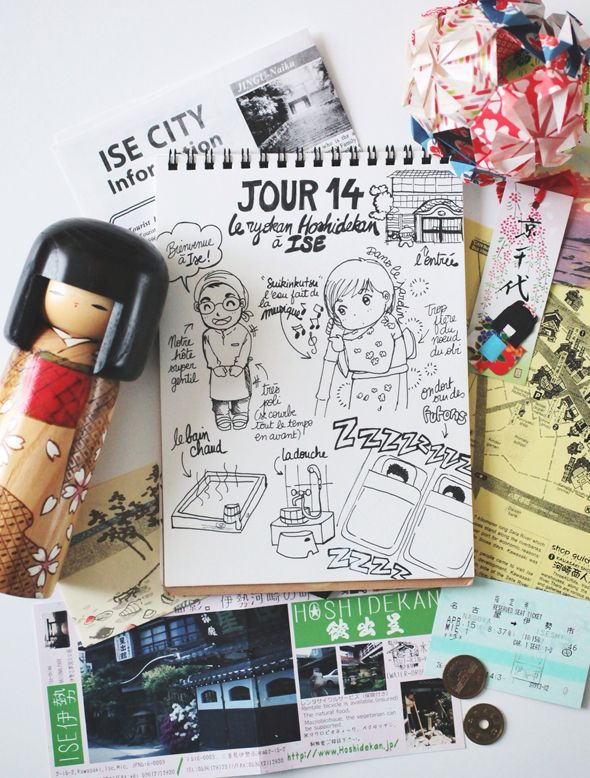 "My Japan Travel Diary Day 14 : Notre ryokan ""Hoshidekan"" à Ise www.tokyobanhbao.com"