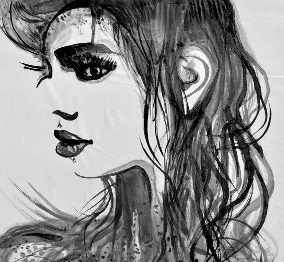 Alex Solodov woman sketch