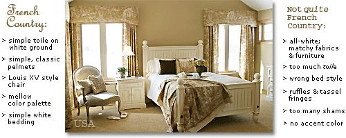 french provincial decorating