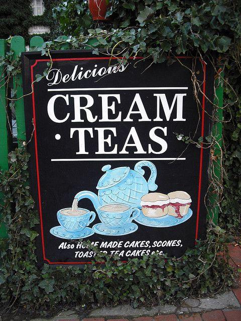 Cream Teas | Flickr - Photo Sharing!