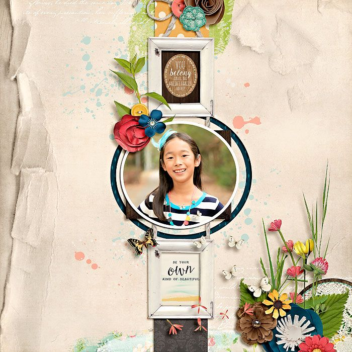 a natural beauty by kristin cronin-barrow  template : paint the town red by jimbo jambo designs