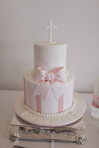 17 Best Images About Girl Baptism Cake On Pinterest