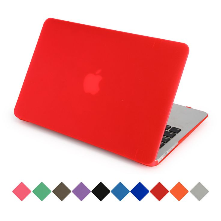 for macbook air 13 case matte transparent cover for apple macbook air pro retina 11 12 13 15 can see logo #Affiliate