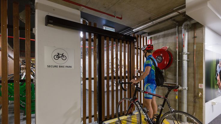 145 Ann Street - Brisbane facility achieves full Green Star points #colonialfirststate #makecyclingeasy #cycling #endoftrip