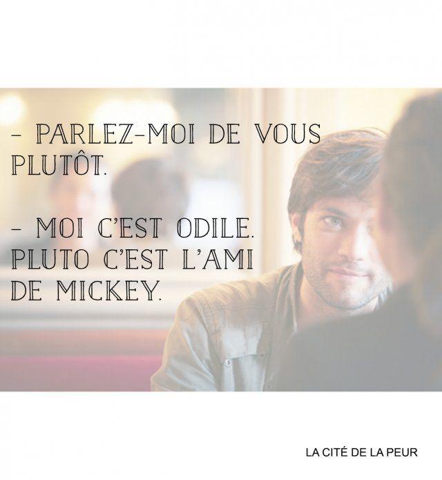 """""""Parlez-moi de vous plutôt. « Moi c'est Odile. Pluto c'est l'ami de Mickey"""" - Cosmopolitan.fr"""