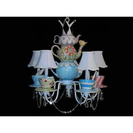 Mad hatter party. (originally spotted by @Caitlinrvc629 ): Chandelier, Teapots, Lights Fixtures, Hatters Teas, Teas Pots, Mad Hatters, Alice In Wonderland, Teas Sets, Teas Parties
