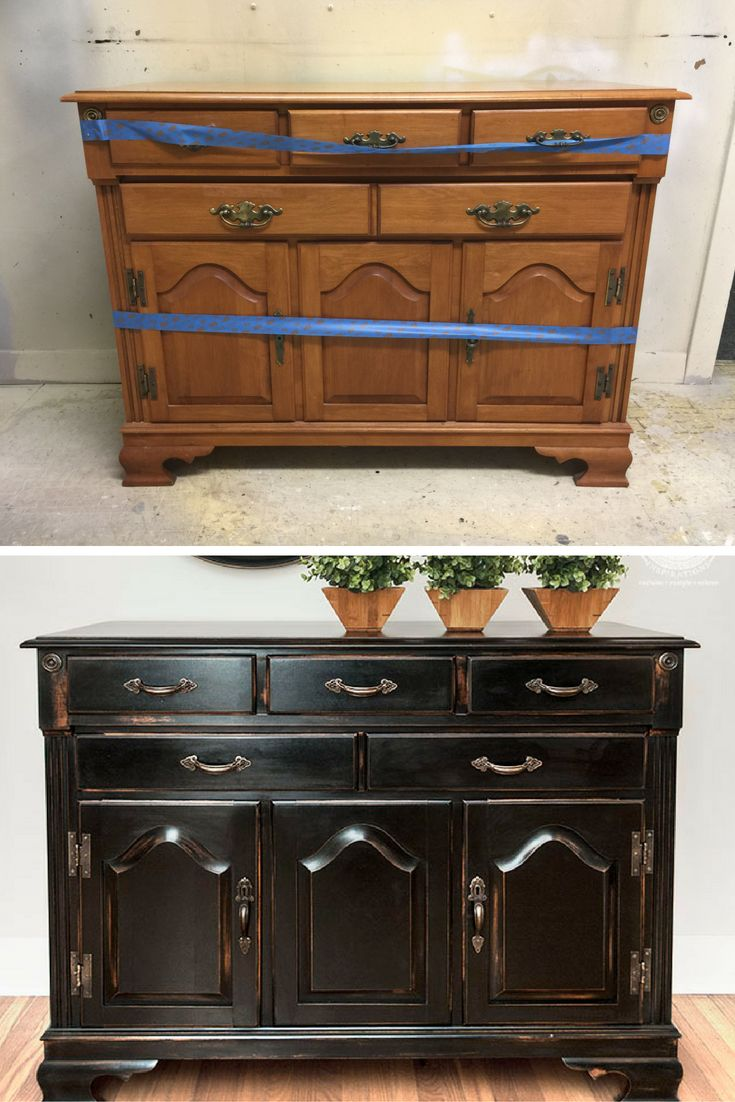 Before and After Pottery Barn Knock-Off | 5 Easy Steps on How to Get This PB Finish