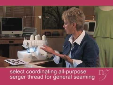 Nancy Zieman shows you her favorite serger techiniques on Baby Lock's Evolution…