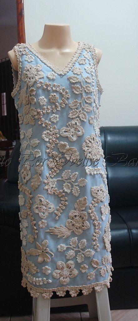 "Ravelry: Ivelisebarssotti's Crochet Bolero And Dress ""Otília"""