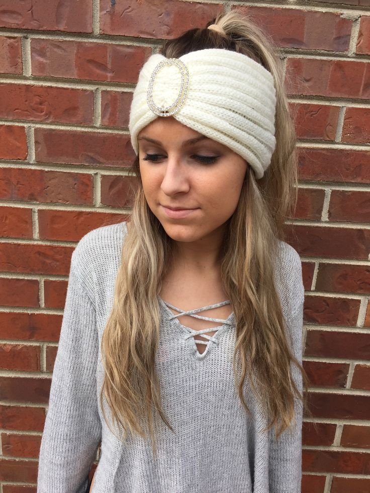Brighton Headband- White