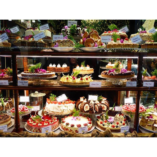 Cake anyone? This #WanderlustWednesday I'm dreaming of sweet treats from @hopetountearooms Hidden away in one of Melbourne's stunning arcades. One of the hidden gems that you'll discover when you go walk abouts with @contexttravel Want to know more about