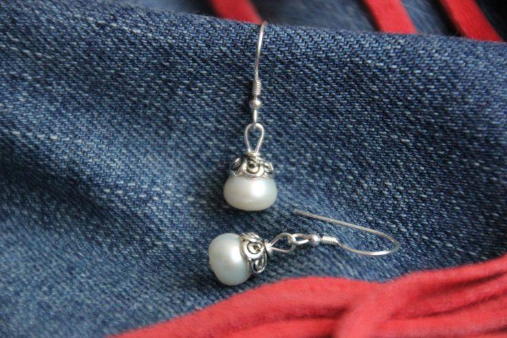 Ref. 01.1303.11 Pendientes - Perlas de Oriente