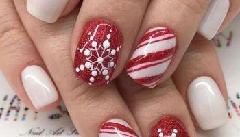 36 Super Urlaub Nail Art Design-Ideen am besten für die Wintersaison