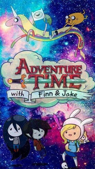 Fondo de pantalla hora de aventura galaxia- Adventure Time wallpaper Galaxy