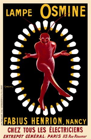 Vintage Advertising Posters | Light Bulbs
