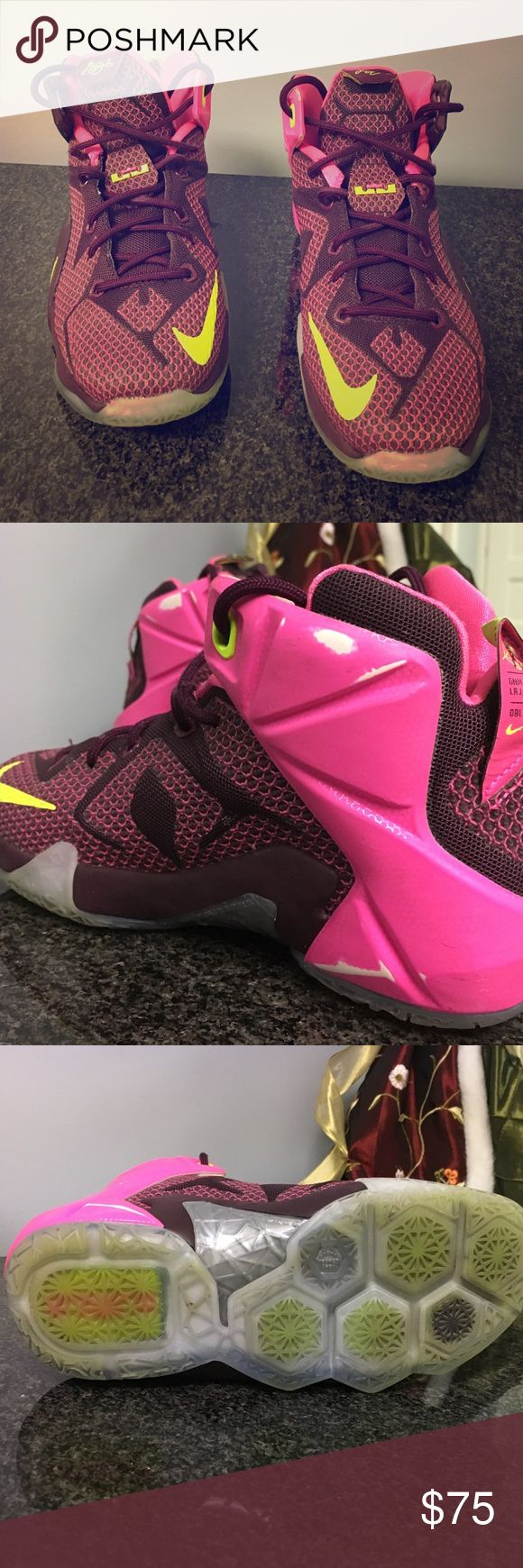 96a5685127e lebron james pink shoes lebrons soldiers 12