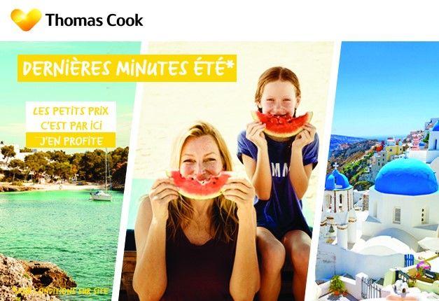 Dernières Minutes Eté Thomas Cook, vos vacances dété à petits prix dès 260.00 € pour des vacances en Espagne.