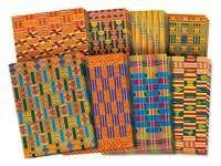 Ontdek de traditionele Afrikaanse textielpatronen. 8 verschillende motieven. Set…