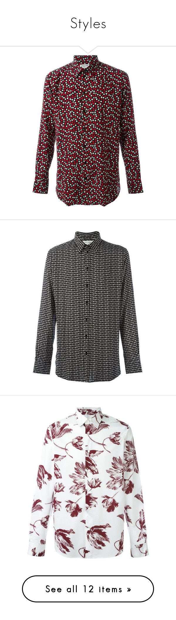 """Styles"" by silkaperez ❤ liked on Polyvore featuring men's fashion, men's clothing, men's shirts, men's casual shirts, mens silk shirts, mens extra long sleeve shirts, mens long sleeve silk shirt, mens long sleeve shirts, mens print shirts and black"