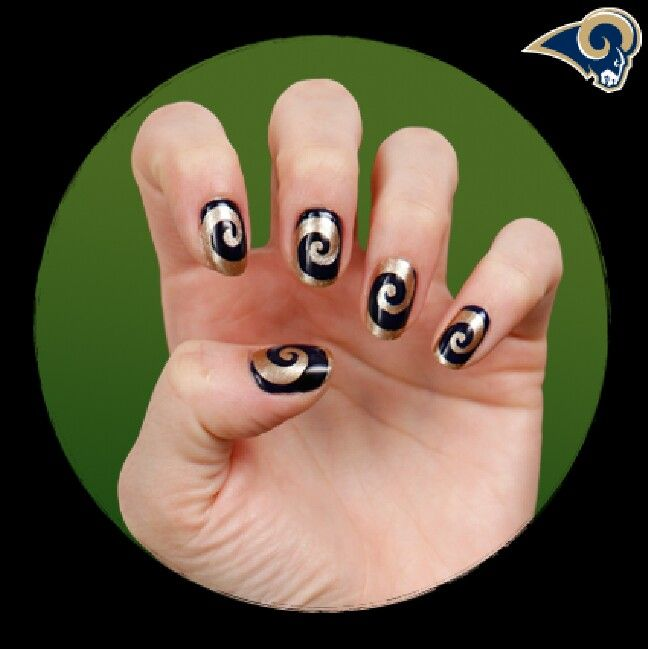 20 best StL Rams Nails, Makeup and Hair images on Pinterest | St ...
