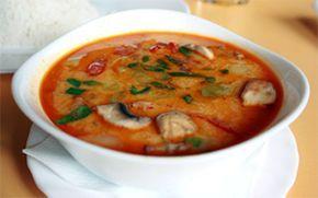 Vegetarian Tom Yum Soup Recipe (Tom Yum Je Nam Khon) from TempleofThai.com online grocery