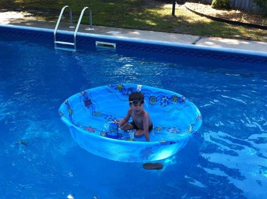 Swimming Pool In A Swimming Pool! This Kid Doesnu0027t Like Water U003d)