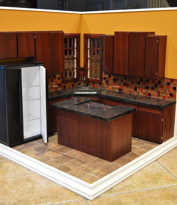 225 Best The Miniature Kitchen Images On Pinterest: 1160 Best Barbie Doll House & Furniture # 2 Images On