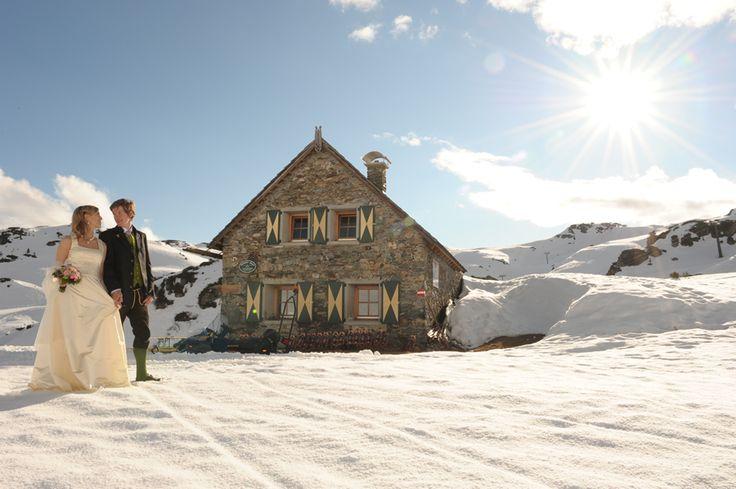 Hochzeitslocation Obertauern! Traumhafte Winterhochzeit im Hotel Seekarhaus