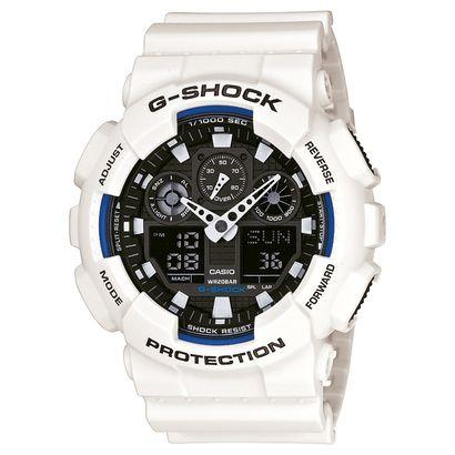 Relógio G-Shock GA-100 - Branco+Preto