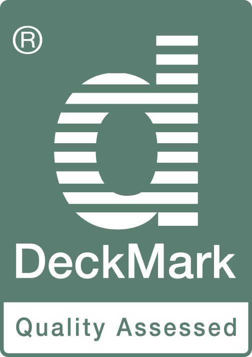 Use DeckMark accredited materials and installers