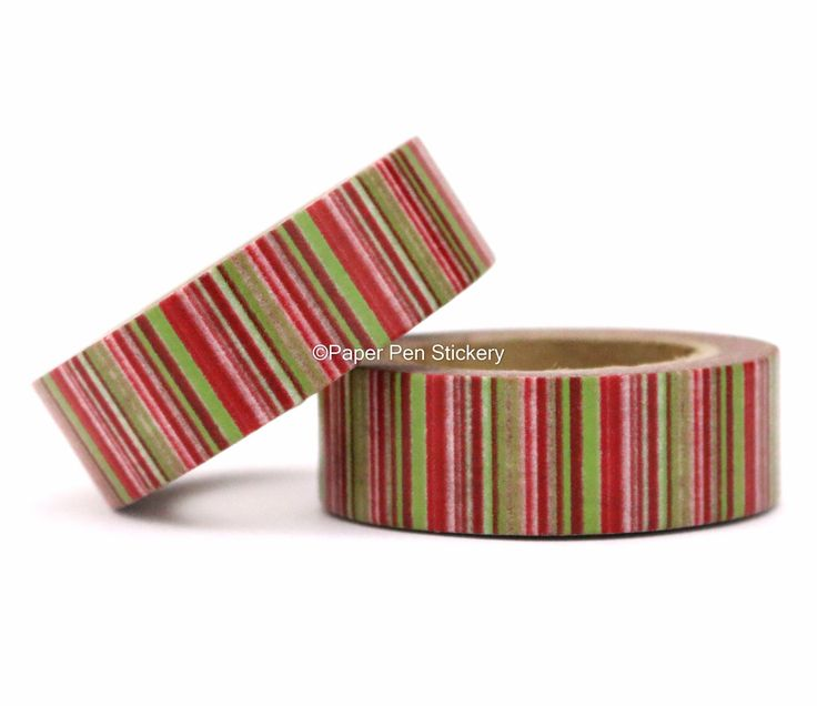 Washi Tape Red Green Stripe Zig Zag Stripe Planner Decoration Scrapbooking Stationery Planner Supply Decorative Masking Gift Wrap by PaperPenStickery on Etsy https://www.etsy.com/au/listing/250978696/washi-tape-red-green-stripe-zig-zag