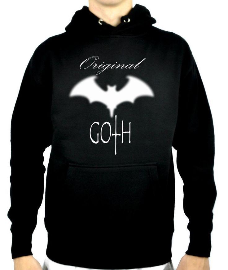 25 mejores imgenes en unisex men women clothing en pinterest original goth with blurred bat pullover hoodie sweatshirt gothic clothing gumiabroncs Images