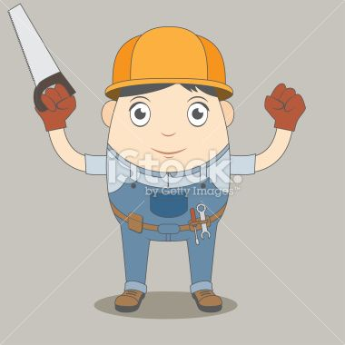 1000+ images about Man Construction Worker Character on ...