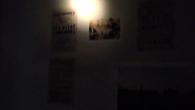 """Instalación """"You're not in Barallobre anymore... """" en Casa de la Cultura de Fene para la exposición colectiva """"Adriano, Sesión Continua"""" comisariada por Fotoforum Lumen."""