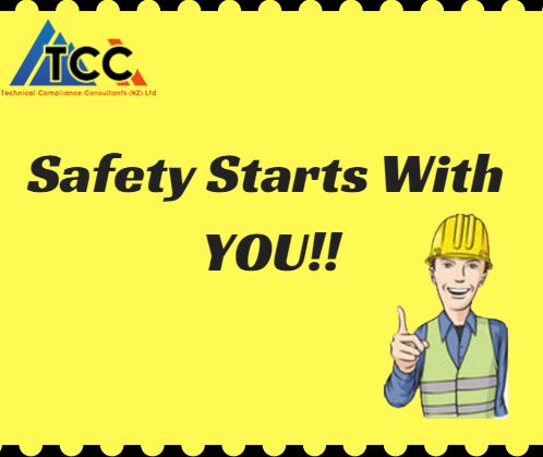 Always remember that #Safety starts with you. To ensure a #Safe workspace, get yourself enrolled in the #Courses offered by Technical Compliance Consultants. #SafeTechniques #Handler #PIC #NewZealand