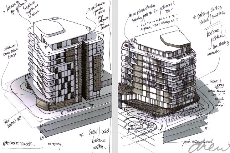 drew architects | morningside towers