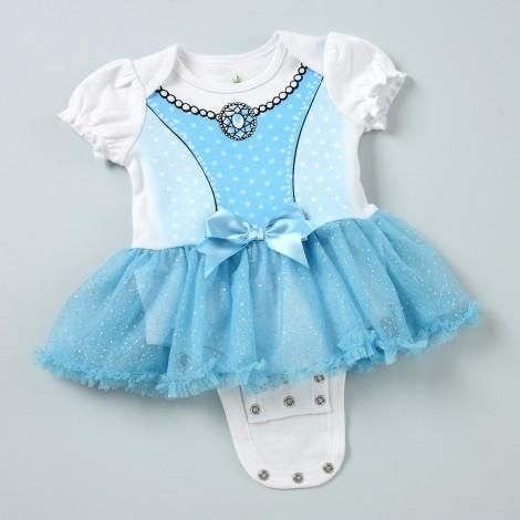 CINDERELLA Disney Cuddly Bodysuit with Tutu featuring DISNEY PRINCESS