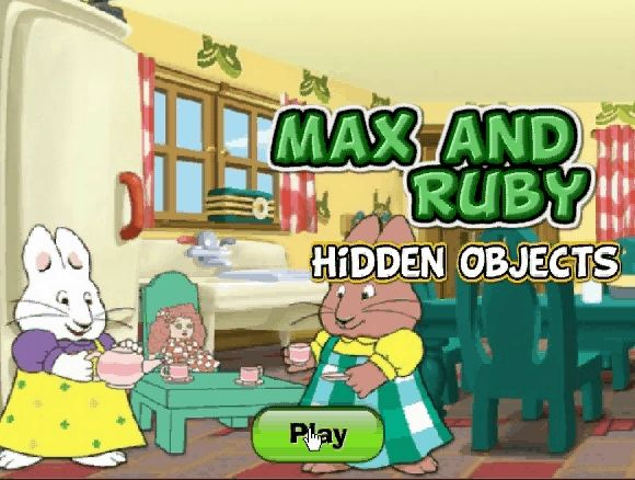 play max and ruby dress up game