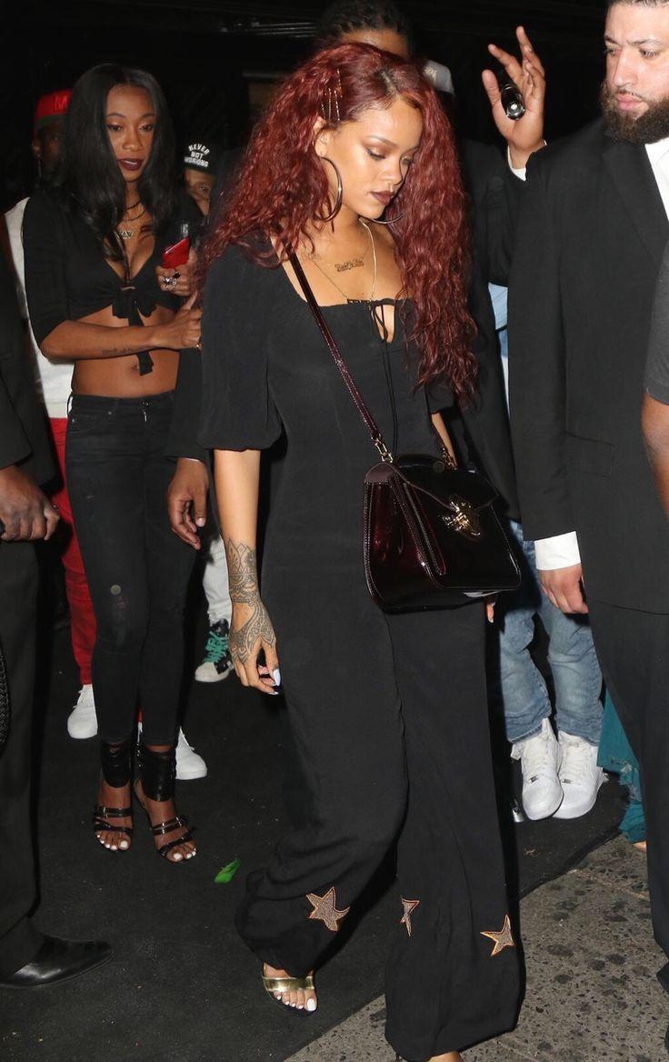 Rihanna red hair dress up